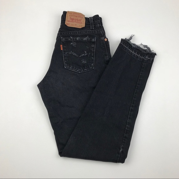 Levi's Denim - Vintage LEVI'S 551 Orange Tab Custom Jeans Re/Done